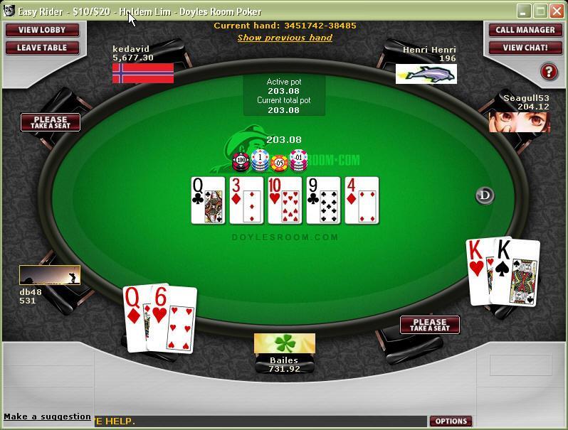 Doyles-Poker-table